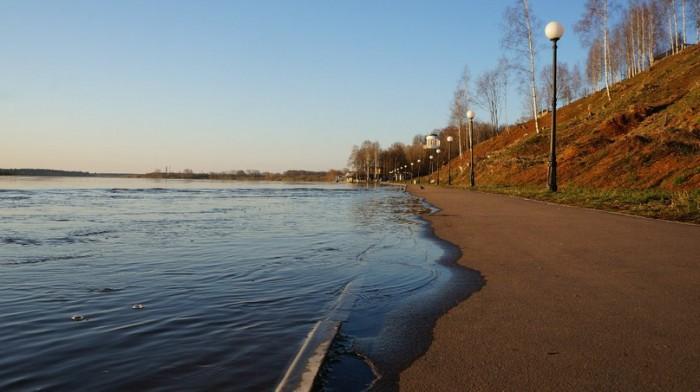 В Кирове отмечен пик паводка