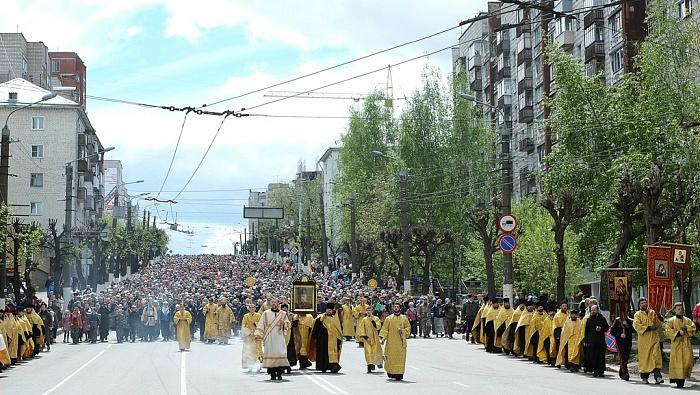 Стали известны окончательные расписание и маршрут Великорецкого крестного хода