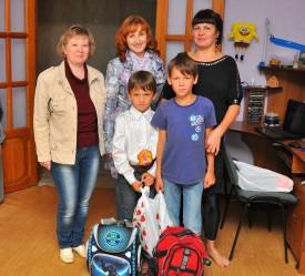 ЗМУ КЧХК помог первоклассникам собраться в школу