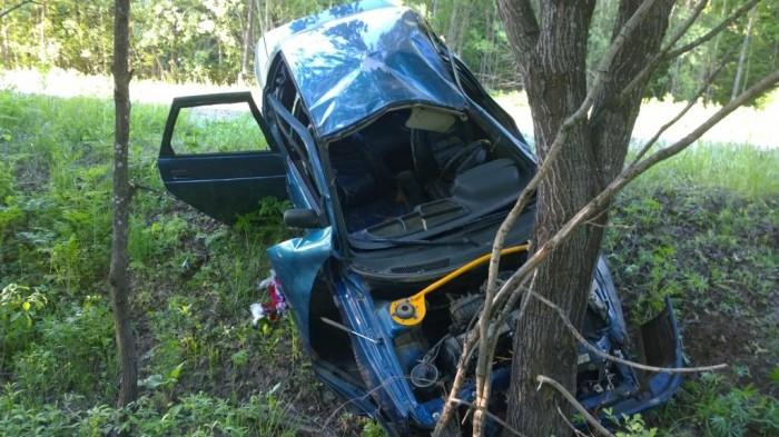 В Слободском районе насмерть разбился водитель ВАЗа
