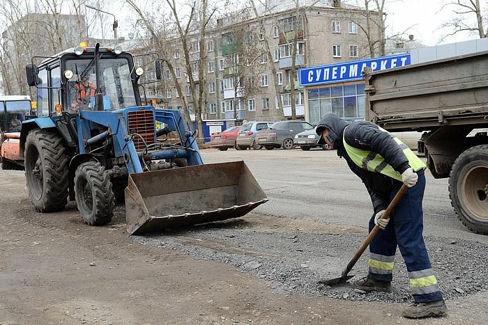 В мае начнётся ремонт на 8 улицах Кирова
