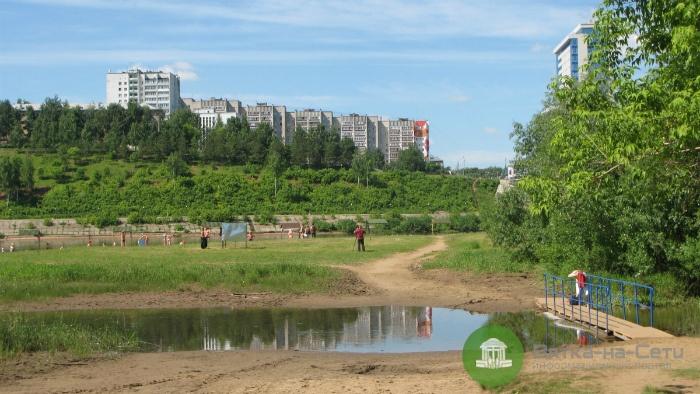 В Кирове открыли городской пляж