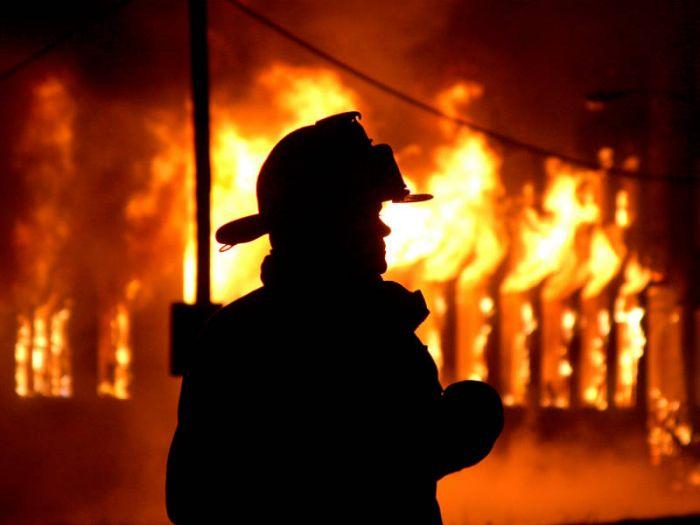 В Орлове во время пожара погиб мужчина