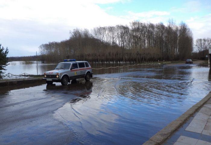Уровень воды в Вятке преодолел 4,5 метра