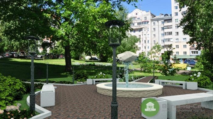 В Кирове благоустроят новый сквер