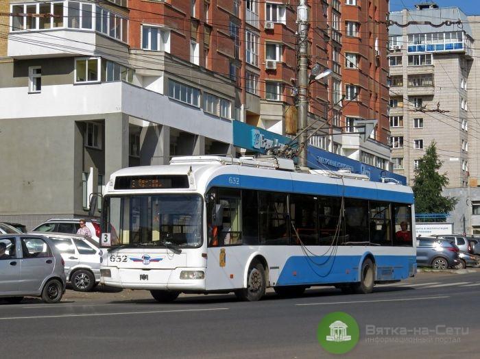 В Кирове начнут курсировать 15 новых троллейбусов