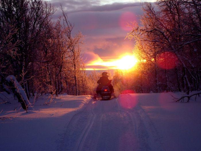 В Кировскую область съедутся лучшие спортсмены по снегоходному кроссу