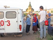 В Великорецкий крестный ход – 2012 за медицинской помощью обратилось 2635 паломников