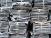 В Кирове устроят «Бумажный бум»