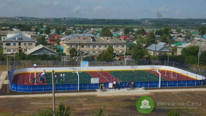 До конца года в регионе построят 7 новых спортивных площадок