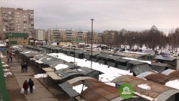 На Коневском рынке начата подготовка к строительству