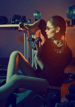 Мастер-класс по студийной съемке от Жени Коногоровой