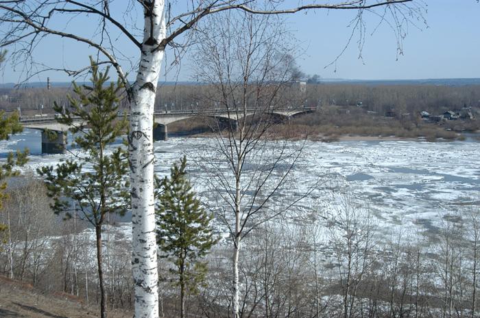 За последние сутки уровень воды в Вятке поднялся на 10 см