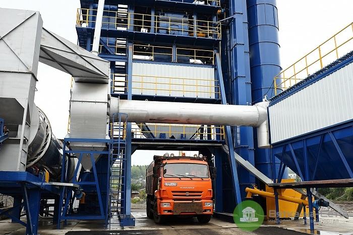 В Кировской области запустили новый асфальтобетонный завод