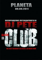 DJ PETE - BACK IN THE CLUB