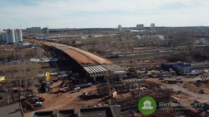 Строительство дорог в Кирове могут завершить раньше срока
