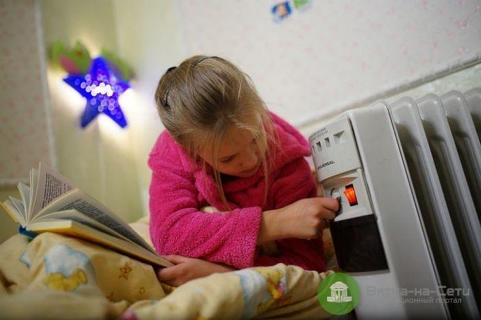 На следующей неделе в школах, садиках и больницах начнут включать отопление