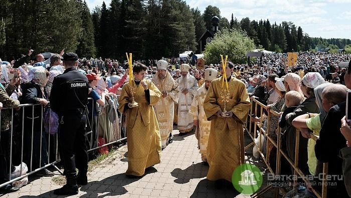 Участие в утренней литургии на реке Великой приняли более 38 тысяч паломников
