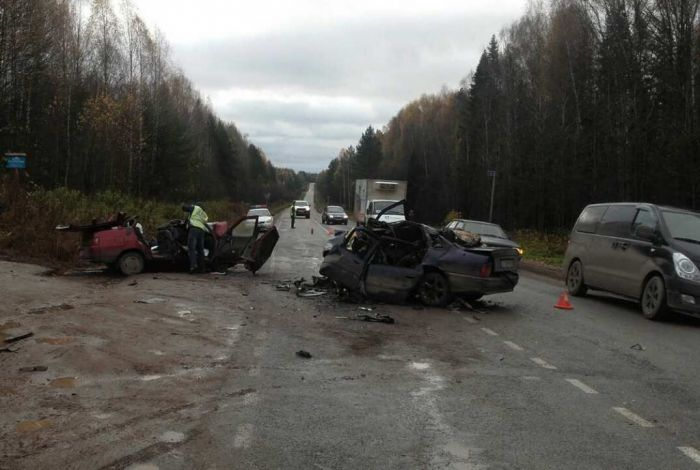 Жертвами ДТП в Куменском районе стали 2 человека