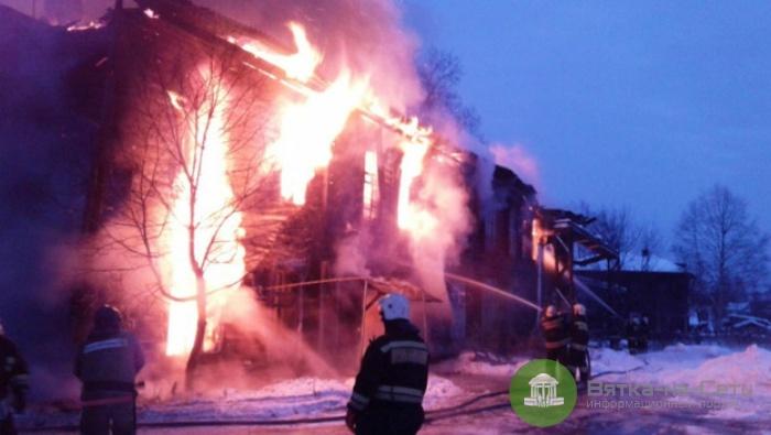 В Омутнинске 16 квартир сгорели из-за непотушенной сигареты