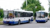 На кировские маршруты вышли 16 новых троллейбусов