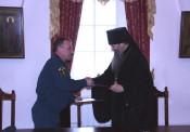 Кировское МЧС и Вятская Епархия подписали соглашение о сотрудничестве