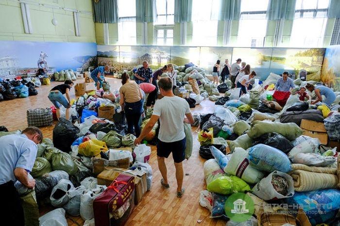 Кировчане собрали 50 посылок для пострадавших от наводнения в Иркутской области