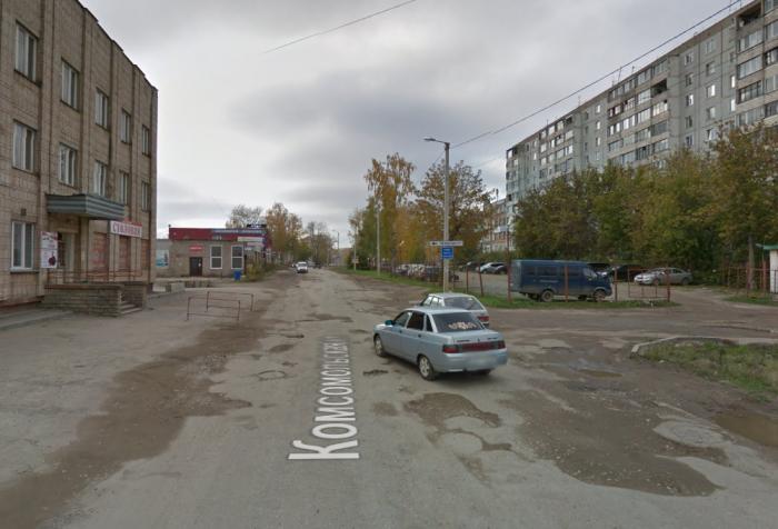 На одном из участков улицы Комсомольской прекращено движение транспорта