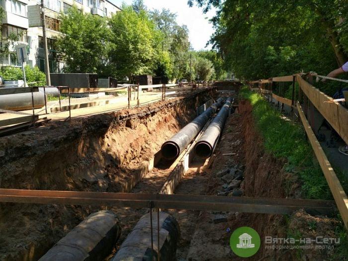 В Кирове более 100 домов могут остаться без отопления из-за ремонта сетей