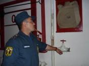Кировские пожарные проверяют места празднования Нового года