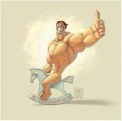Настоящим мужчинам  России установят монумент за 1 000 000 $