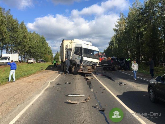 В Слободском районе в ДТП погиб 72-летний водитель