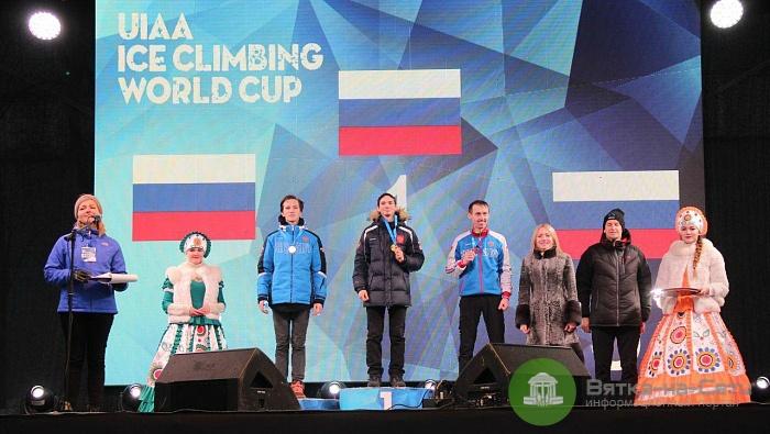 Сборная России стала чемпионом мира по ледолазанию