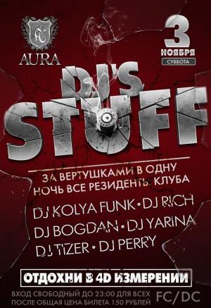 DJ'S STUFF
