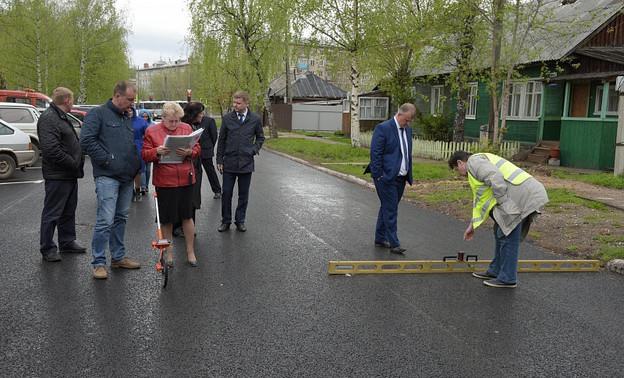 В Кирове после ремонта не приняли улицу Пушкина