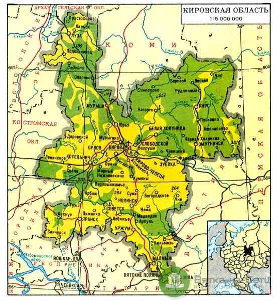 Новые больницы, бассейны, федеральные объекты - изменения в схеме территориального планирования Кировской области.