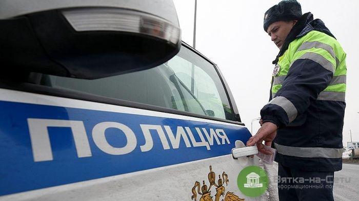 В Яранском районе полицейского сбил грузовик во время оформления ДТП