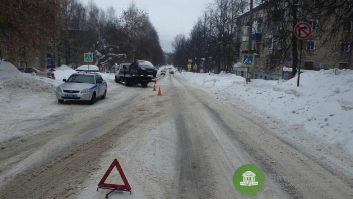 В Кирово-Чепецке на пешеходном переходе сбили ребенка