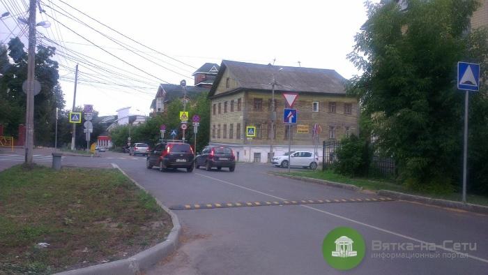 На участке улицы Герцена в Кирове введено двустороннее движение