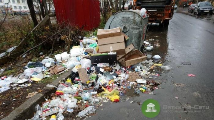 Три кировских УК оштрафованы на 450 000 рублей за мусор