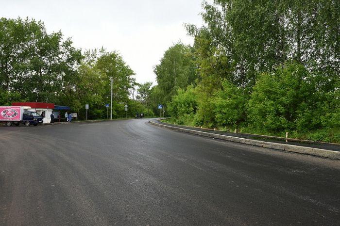 На улице Центральной восстанавливают тротуары