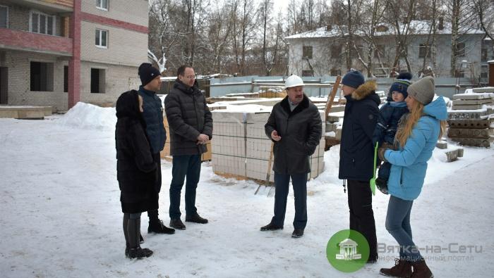 Долгострой на улице Маклина в Кирове готов на 80%