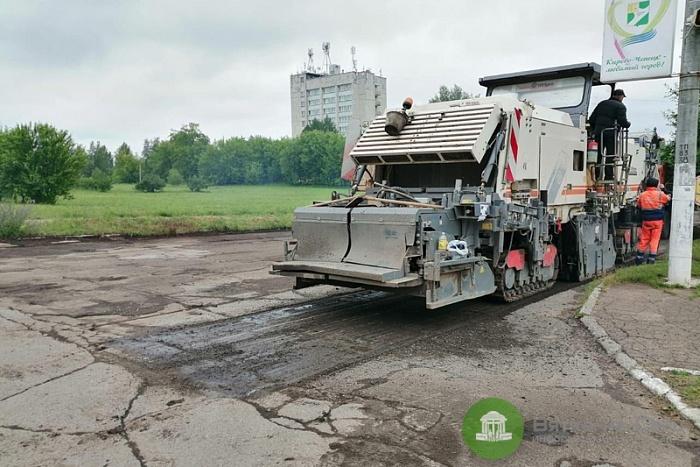 В Кирово-Чепецке стартовали дорожные работы