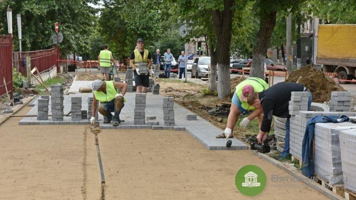 В Кирове отремонтируют дворы и тротуары: полный список