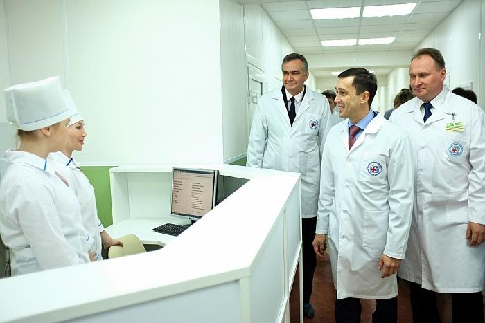 В Кировской областной клинической больнице открылось обновлённое нейрохирургическое отделение