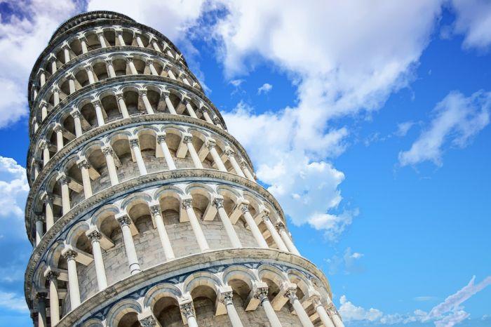 Удивительная Пизанская башня