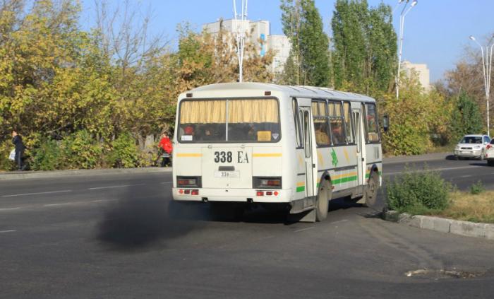 В Кирове наложили штрафы на собственников коптящих автобусов
