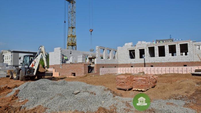 В Кирове начали строить новый детский сад