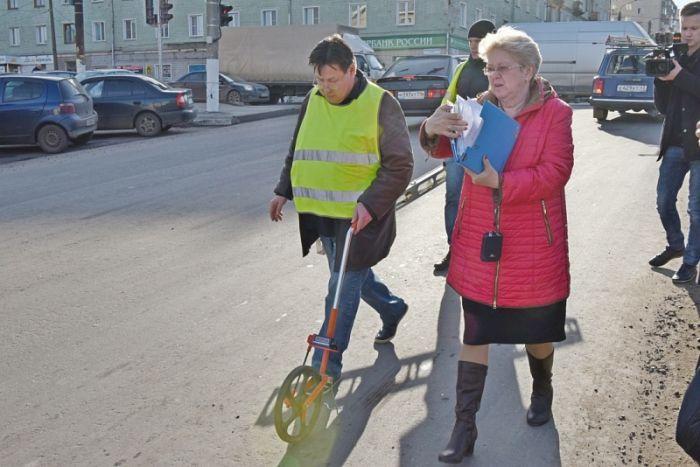 Профсоюзный проезд и часть улицы Ленина приняты после ремонта