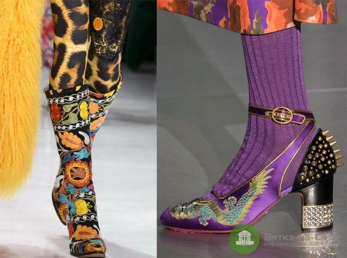 Как выбрать стильную обувь на осень 2018 года?